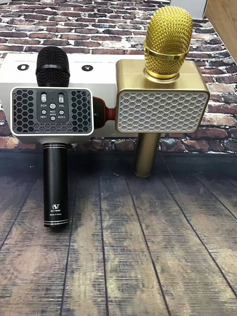 Micro karaoke 3 in 1 : Q7-Q9-YS10-83-84-85 giá sỉ !! - 8