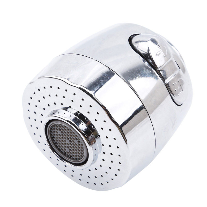 Splash Faucet Nozzle Aerator Bubbler Sprayer Water-saving Tap Filter Two Modes Faucet Extender
