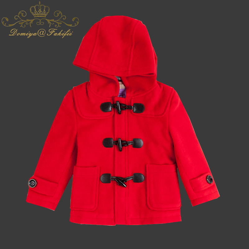 2018 Winter Kids Warm Jacket Girls Clothing Christmas Coats and Jackets Girls Jacket Hooded Kids Coat Infantis Girl woolen Coats casual 2016 winter jacket for boys warm jackets coats outerwears thick hooded down cotton jackets for children boy winter parkas