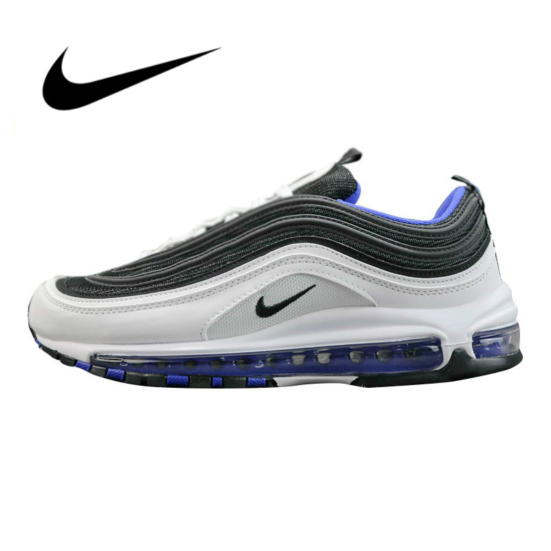 new arrival 26bd0 db187 Original authentic Nike Air Max 97 OG men s running shoes classic cool  sneakers outdoor comfortable light professional design