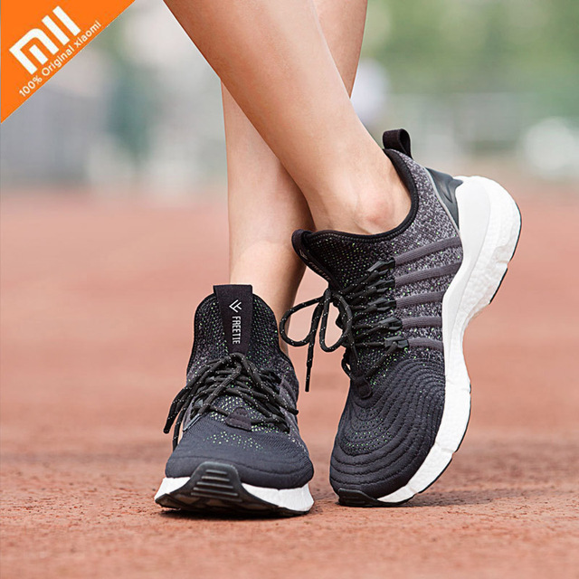 Original Xiaomi Freetie Men's Sports Running Shoes Breathable Shock-absorbing Sneaker Better Than Xiaomi Mijia Sneaker 2 Smart