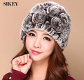 Free shipping genuine rabbit fur caps womens Real Rex Rabbit Fur Cap ~Fashion Hat WHOLESALE / RETAIL  DROP SHIPPING