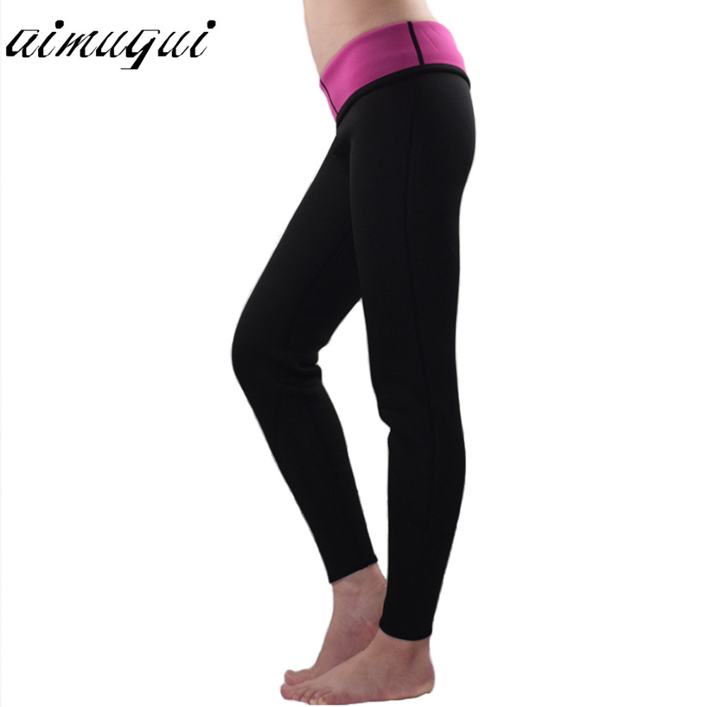 07f2a8f5a3 Hot on tv Leg Shapers Fit Sweat Body Shaper weight loss long pants slimming  shapewear neoprene Fitness Leggings tight pants