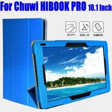 Para HIBOOK PRO 10.1 de Lujo de LA PU cubierta de Cuero Del Tirón Para Chuwi HIBOOK PRO 10.1 Pulgadas tablet pc Caso Del Caso Del Soporte TL11