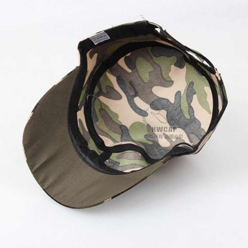29623401aca ... Men Military Hats Cadet Castro Army Cap Flat Top Patrol Baseball Caps  Fashion Unisex Cotton Summer