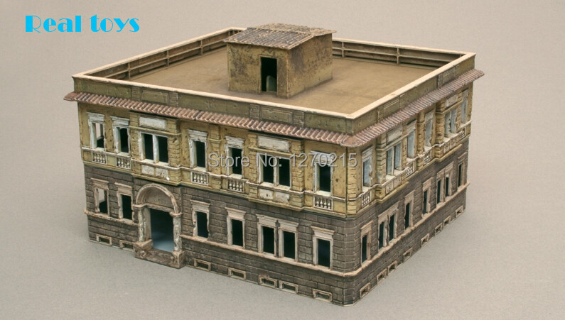 Out of print product ITALERI 1 72 2 STORY BERLIN HOUSE UNASSEMBLED PLASTIC MODEL KIT BRAND