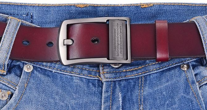 Ремни классические повседневные Модные дикие прочные пояса из натуральной кожи мужские кожаные пояса tide 122931