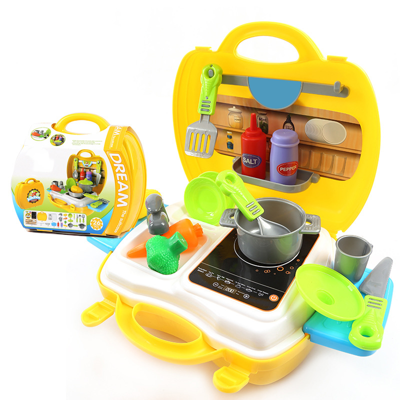 Miniature Kitchen Accessories Dolls House Miniature Kitchen Toys For Children Child Kids Play Food Tool Cash Registers Brand