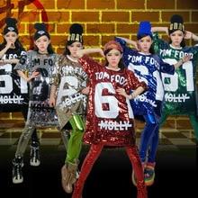 2018 New Arrival jazz Dance Shirt For Lady/Male Top women Bar dj dancers sexy atmosphere singer Men Hip hop Vest costumes J1002