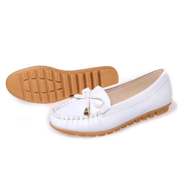 Platte Schoenen Vrouwen Herfst Slip Op Schoenen Voor Vrouwen Loafers Mocassin Womens Zapatos Mujer Ballet Flats Womens Schoenen Vrouw # D31