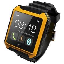Symrun drei proofing IP68 Wasserdicht Kompass Bluetooth Uhr Uterra Smart Uhr Android Smartwatch Uwatch für iPhone Samsung