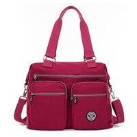 Waterproof Nylon Women Messenger Bags Small Purse Shoulder Bag Female Crossbody Bags Handbags High Quality Bolsa Tote 2019 New