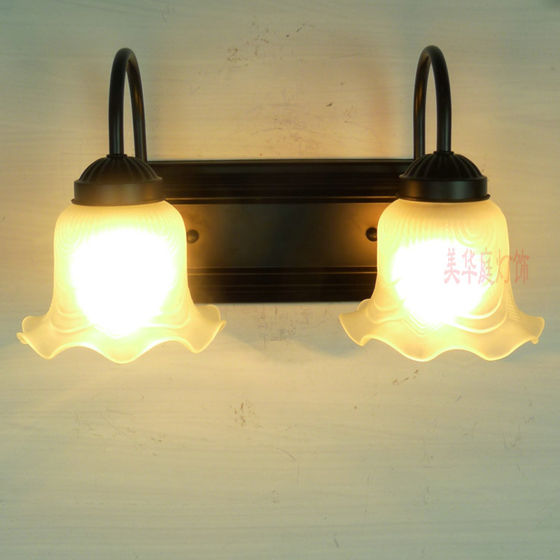 A1 Shipping retro European style wall lamp corridor lamp bedside lamps simple double bedroom mirror light garden FG366 LU1019 купить