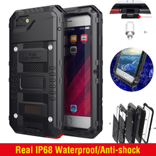 Heavy Duty Protection Case for iPhone 7 plus 8 plus 6 6s 6 plus 7 8 Waterproof Armor Cases for iPhone XS MAX XR XS X Diving Case цена