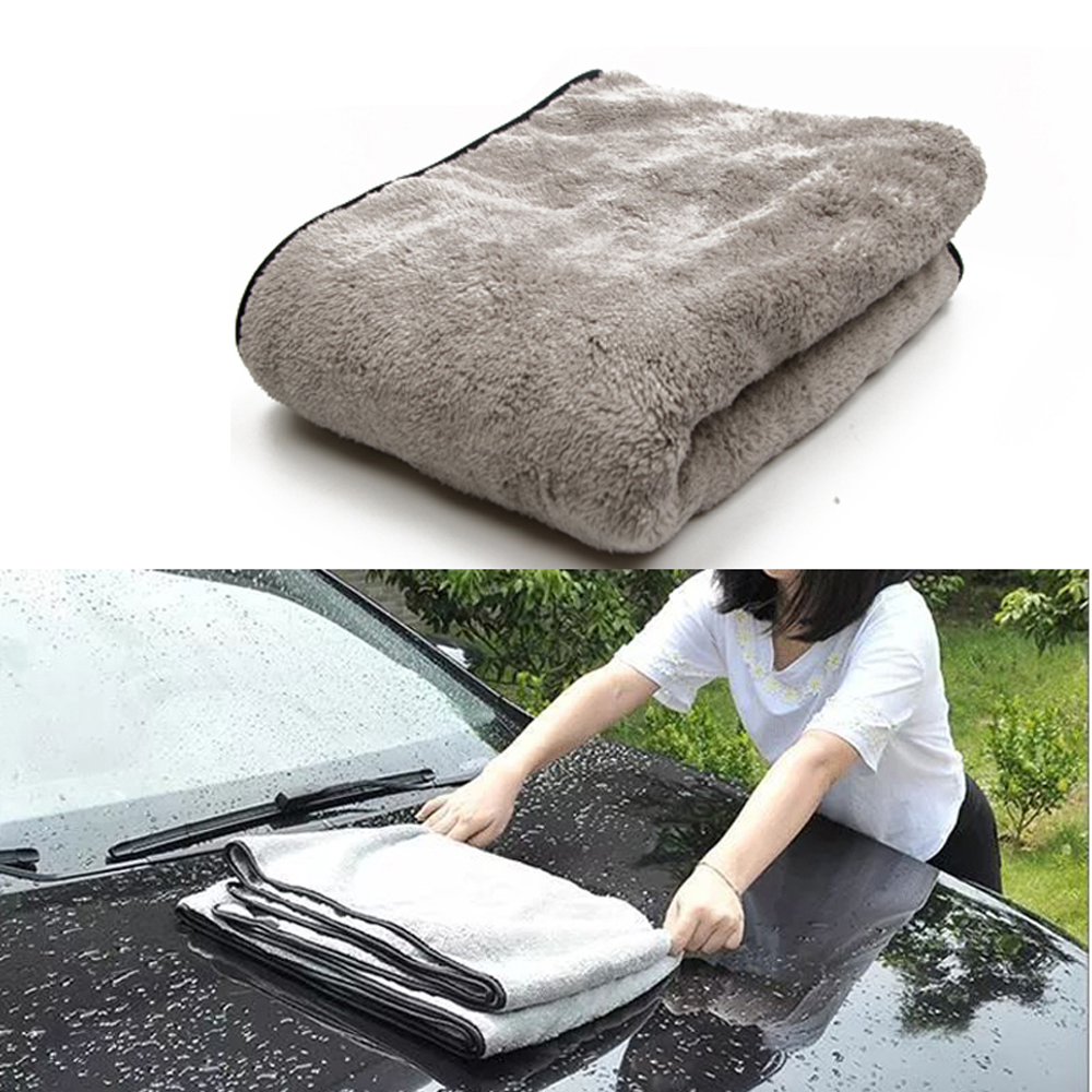 100X40cm Car Wash Towel Microfiber Car Cleaning Drying Cloth Auto Washing Towels Car Care Detailing Car Wash Accessories