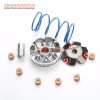 1000 RPM 1500 RPM 2000 RPM torque spring & Chinese Scooter Performance Racing Front Clutch Variator for GY6 50cc 139QMB