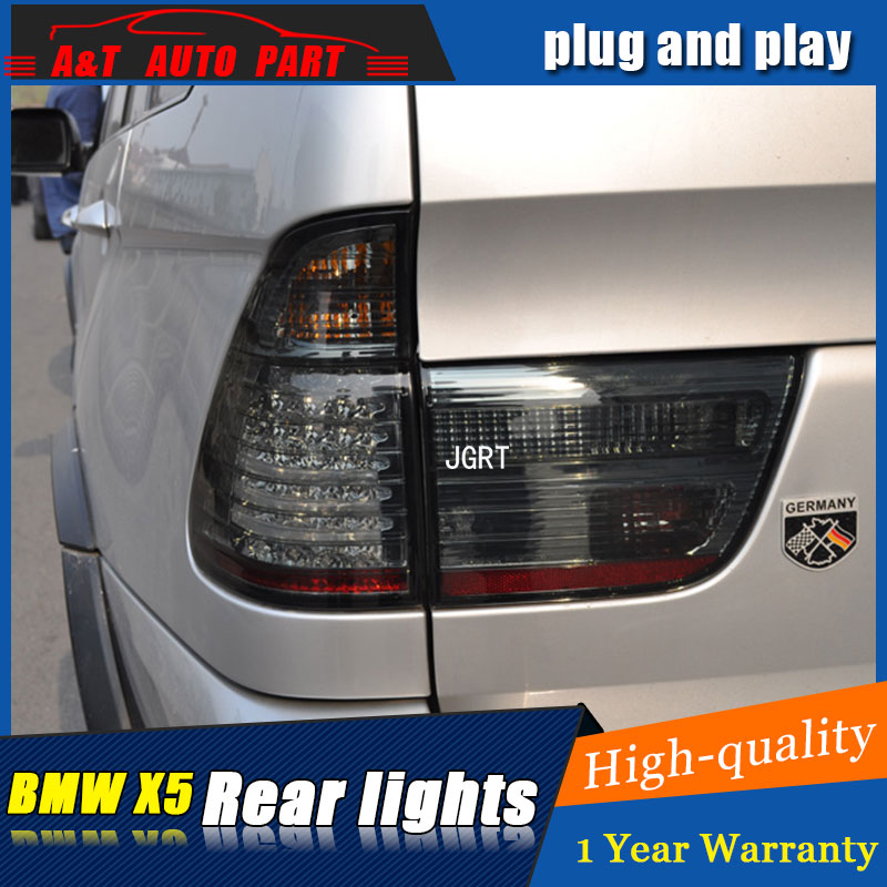 Car styling Accessories for BMW X5 rear Lights led TailLight 1999-2002 for X5 Rear Lamp DRL+Brake+Park+Signal lights led