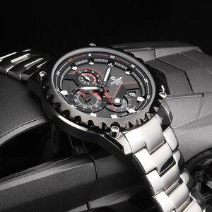 Image 3 - Relogio Masculino CASIMA Chronograph spor İzle erkekler 100M su geçirmez cazibesi aydınlık askeri ordu kuvars kol saati Saat Saat