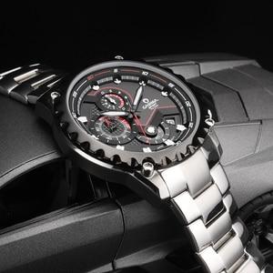 Image 3 - Relogio Masculino CASIMA Chronograph zegarek sportowy mężczyźni 100M wodoodporny urok Luminous wojskowy armia kwarcowy zegarek na rękę zegar Saat