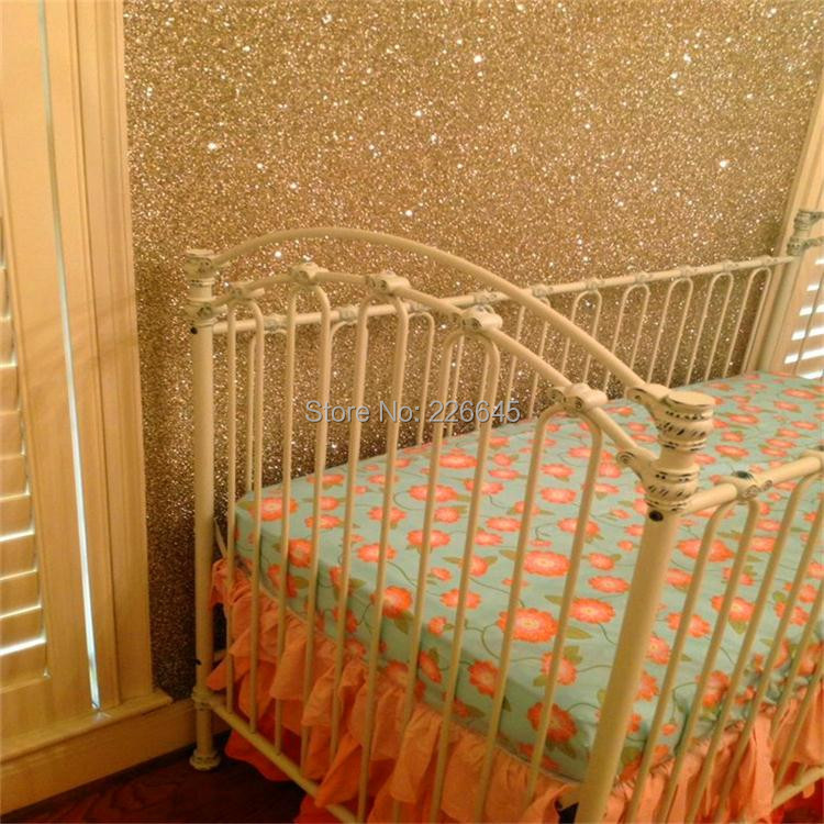 22 meter High Glitter Wallpaper European Fashion Glitter Wallpaper Glitter Wall paper For Living room Bedroom Sofa TV Backdrop pu glitter wallpaper glitter fabric for wall paper for room decoration