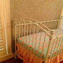 22 meter Hohe Glitter Tapete Europäischen Mode Glitter Tapete Glitter tapeten Für wohnzimmer Schlafzimmer Sofa TV Hintergrund(China)