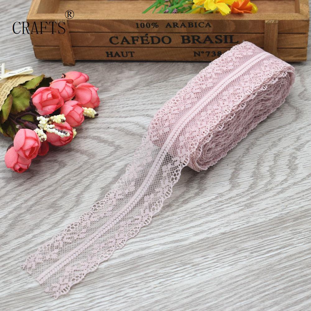 HTB1KL7DciOYBuNjSsD4q6zSkFXam New! 10 yards beautiful lace ribbon, 3.8 cm wide, DIY decoration accessories, holiday decorations