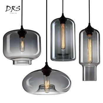 Escandinavo Criativo Lâmpada Pendurada Moderno Industriel Iluminação De Vidro Luz Pingente Luminária Lustre Suspensão Lampadario Deco