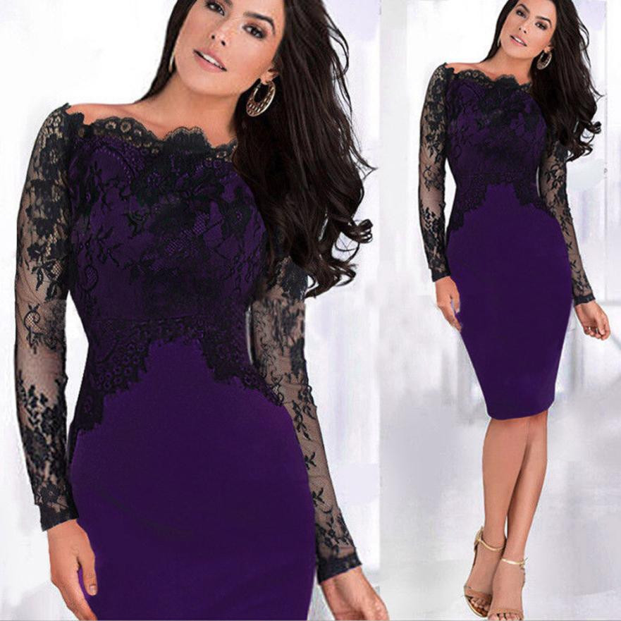 d03905e2c5ea best top 10 elegant womens vintage colorblock lace ideas and get ...
