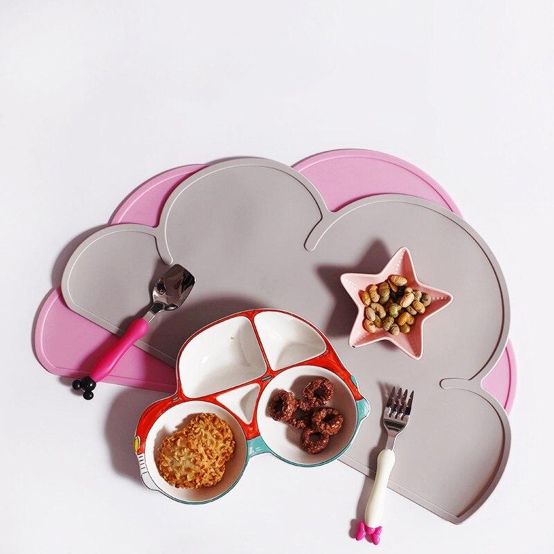 Többszínű téglalap 30 * 40cm szilikon tányéralátétek hőálló, nem csúszott asztali szőnyegek