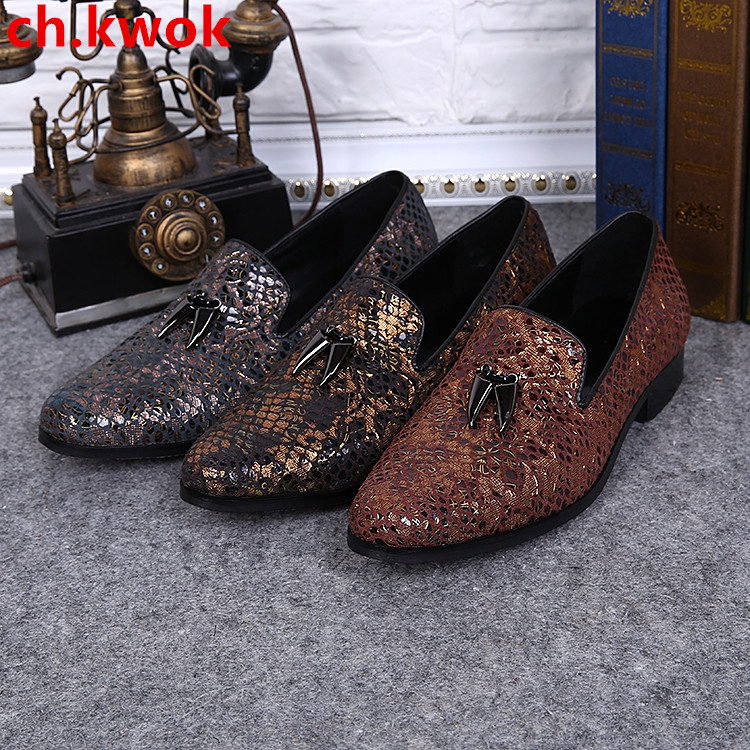 CH.KWOK Paisley Mens Slip On Driving Shoes Spring Autumn Man Dress Oxfords Shoes Genuine Leather Men Wedding Oxfords Shoes FlatsCH.KWOK Paisley Mens Slip On Driving Shoes Spring Autumn Man Dress Oxfords Shoes Genuine Leather Men Wedding Oxfords Shoes Flats