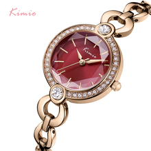 KIMIO Brand Ladies Bracelet Watches For Women Fashion Small Dial Watch 2019 Top Brand Luxury Female Wristwatch Relogio Feminino