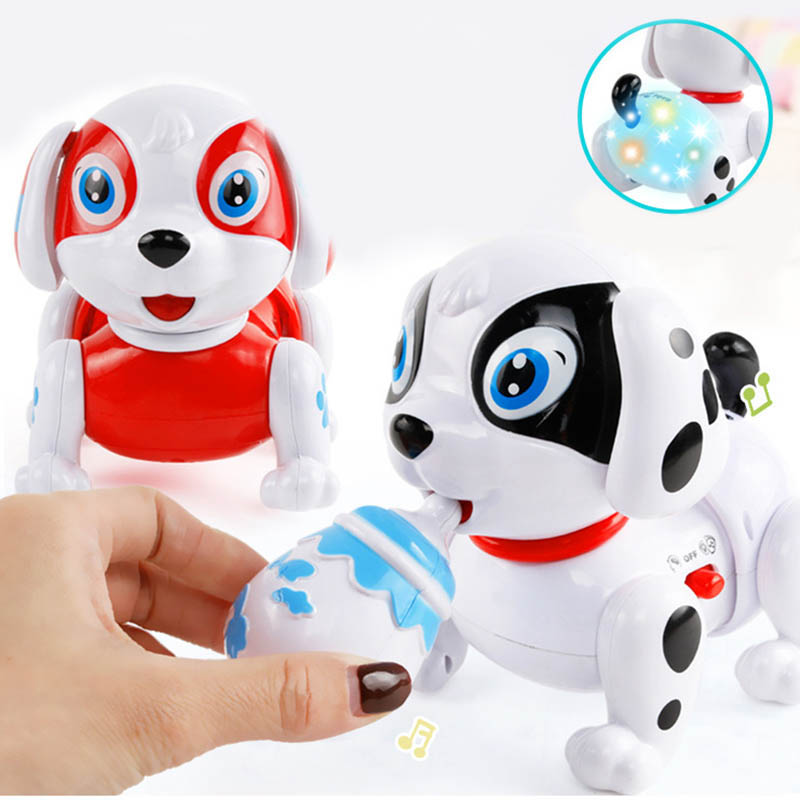 Hot Selling Funny Electronic Toys Music Singing Walking Pet Dog Toys Electronic Dog For Kids