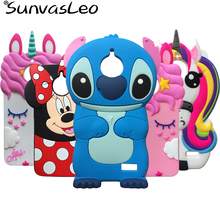 For Motorola Moto E4 Plus 3D Silicone Case Unicorn Cartoon Soft Rubber Silicon Cell Phone Cover Skin Cases Shell Shockproof