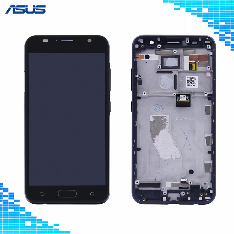 Asus V520KL Black LCD Display +Touch Screen digitizer Assembly with Frame Repair For Asus ZenFone V V520KL LCD screenAsus V520KL Black LCD Display +Touch Screen digitizer Assembly with Frame Repair For Asus ZenFone V V520KL LCD screen