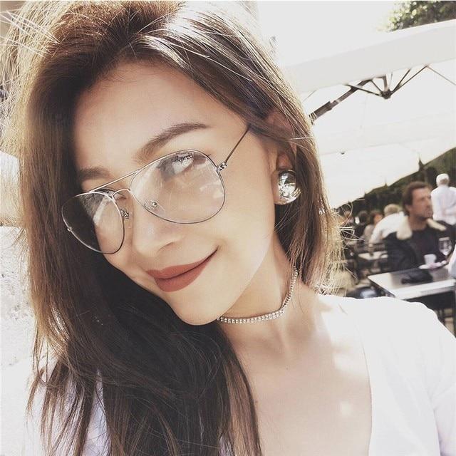62b601aa5d897 Retro Vintage Round Metal Frame Eyeglasses Mens Womens Nerd Clear Lens  Glasses Transparent Optical Eyewear Plain