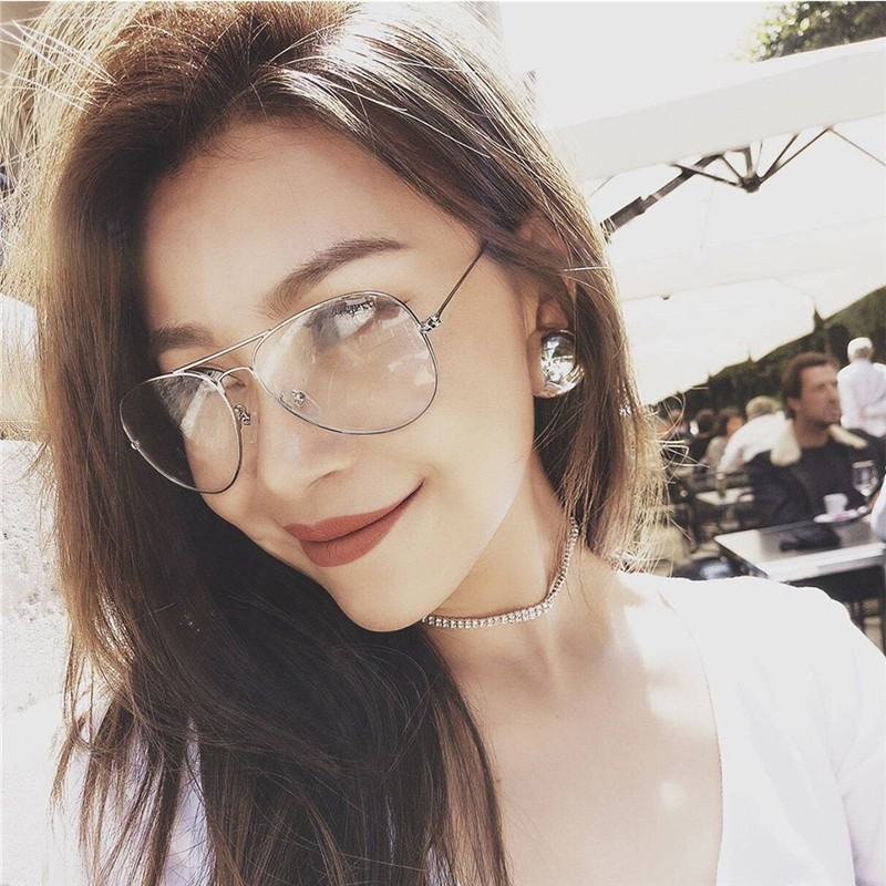 d954d5b676 Retro Vintage Round Metal Frame Eyeglasses Mens Womens Nerd Clear Lens  Glasses Transparent Optical Eyewear Plain