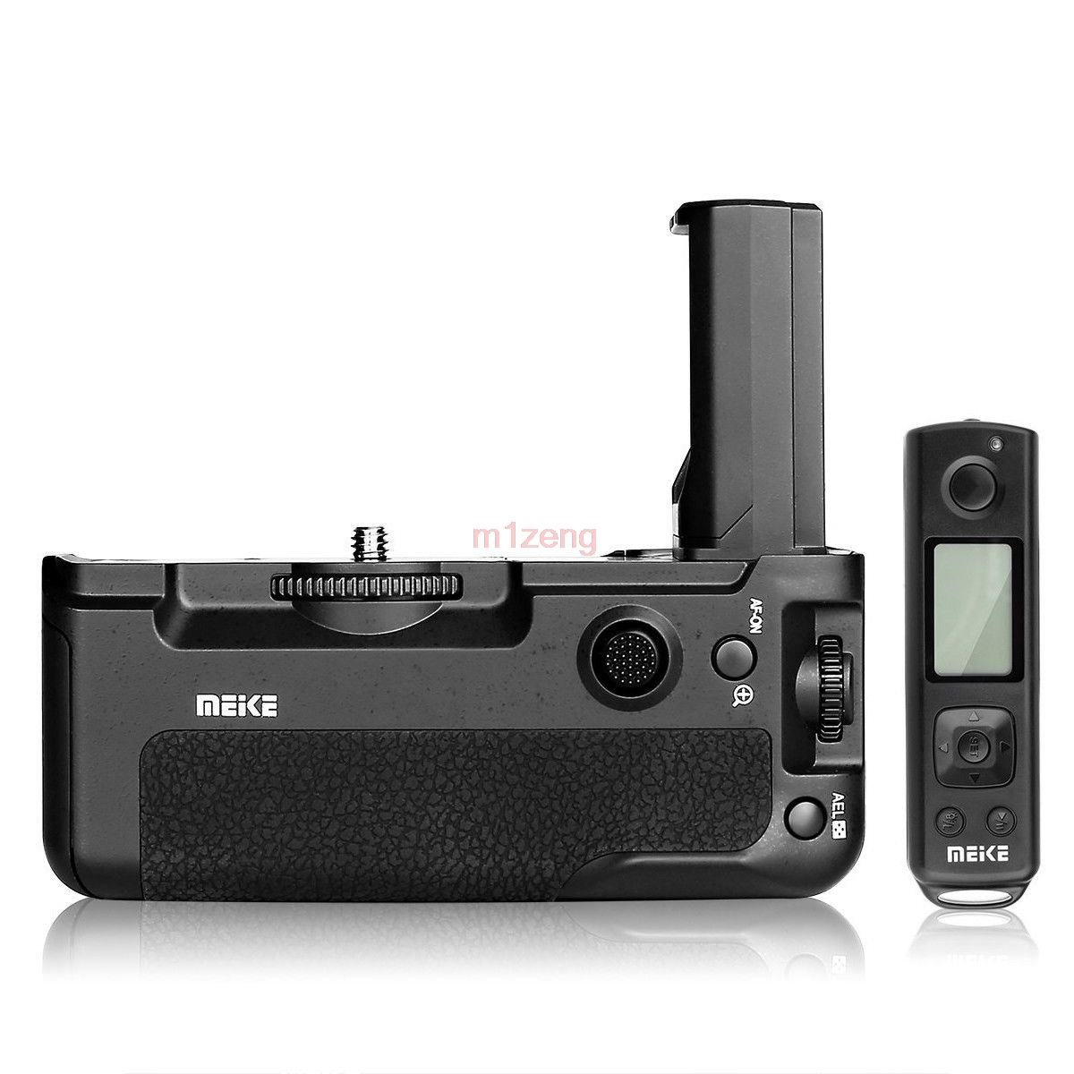 pro Vertical Battery Grip Pack hand grip Holder with 2.4G Wireless Remote Control for Sony A9 A7R III camera meike vertical battery grip hand pack 2 4g wireless remote control for nikon d500 en el15 dslr camera mb d17