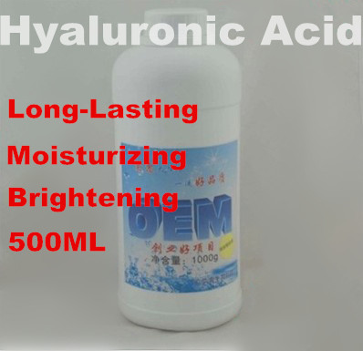 Hyaluronic Acid Liquid 100% Long Lasting Moisturizing Lock Water Brightening Hospital Equipment Essence 500ml Free Shipping jenny gold miracle fantastic blue one dna essence moisturizing lock water