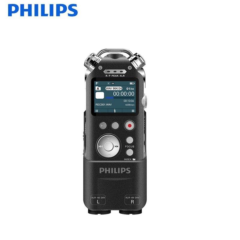 Philips 100% D'origine Vocal Caché Recorder16GB Numérique Enregistreur Vocal USB MP3 Lecteur Enregistreur Professionnel Stylo Téléphone Record