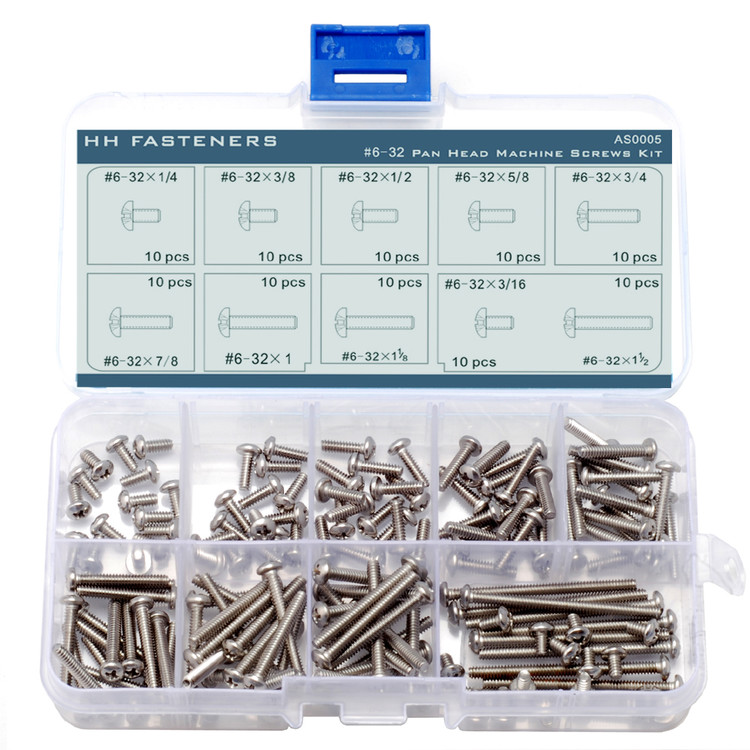 "BULK QTY 100 Stainless Steel BUTTON HEAD Socket Cap Screws 304 #10-24 x 1//4/"""