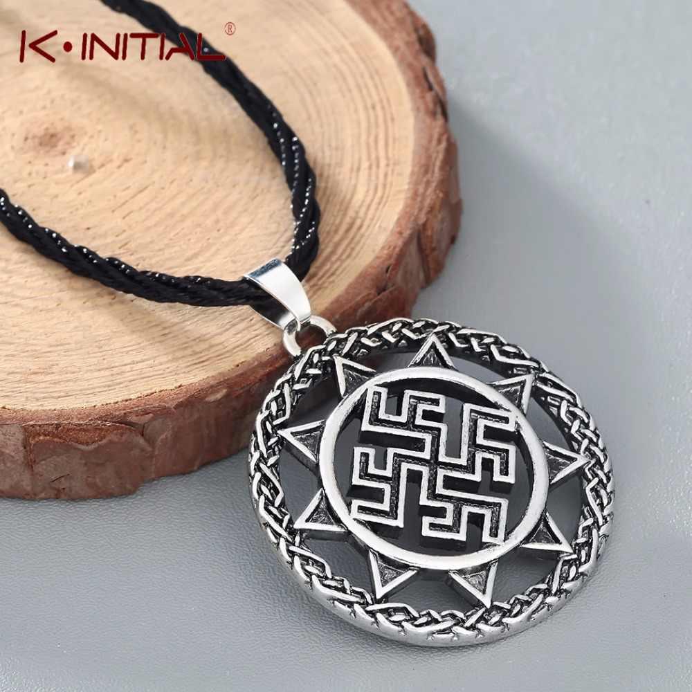 Kinitial амулет славянский сильный защитный исцеления кулон символ оберег Викинг