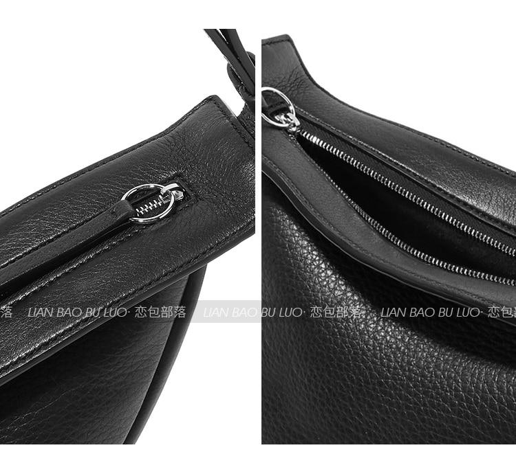 Moda Messenger bag Sela sacos de couro