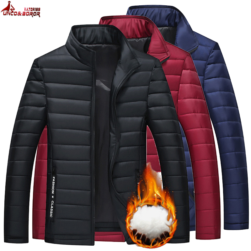 Autumn Winter Man Jacket Soft Casual Men`s Windbreaker Jackets And Coats Streetwear Parka Men Sportswear Jacket Male Clothing