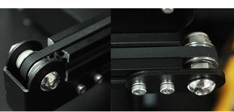 Creality Ender-3/3 S CR-10 เปลี่ยน X/Y axis timing belt GT2-6mm สำหรับ Creality CR-10S/Ender-3 3D ชิ้นส่วนเครื่องพิมพ์