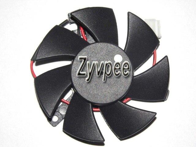 FD5010U12S 12V 0.22A 2 fios 2 pinos frameless fã vga cooler da placa gráfica