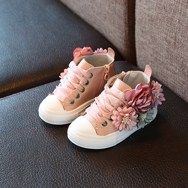 Autumn 2018 new Fashion Children's shoes outdoor super perfect design cute girls princess shoes casual sneakers 1-3 years old