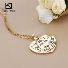 MAMA FOREVER Heart Pendant Necklace