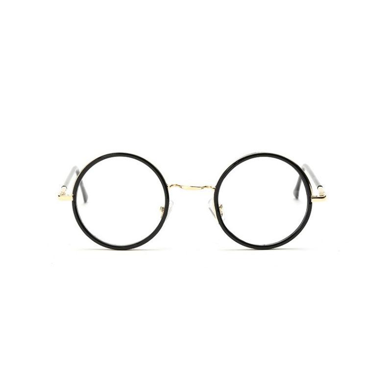 7d12428894 Vintage Brand Design Big Round Glasses Frame Eyewear Frames optical eye  glasses Eyeglsses frames for women Men 8104-in Eyewear Frames from Apparel  ...