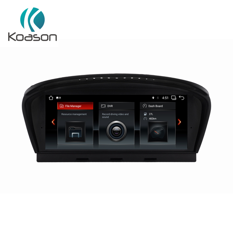 "Koason 8.8"" Screen Android 7.1 Vehicle gps navigation For BMW 5 Series E60 E61 E62 Wifi/BT Car Audio Video multimedia player"