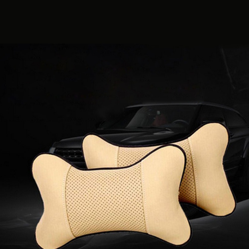 Neck Pillow Bone Car Care 1PC Car Auto Seat Head Neck Rest Cushion Headrest Pillow Pad Headrest Neck Pillow Seat Cover Protector